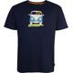 Elkline Methusalem t-shirt Heren blauw